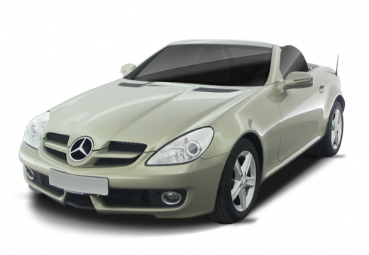 MERCEDES-BENZ Klasa SLK roadster złoty