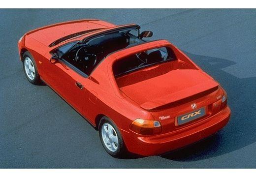 HONDA CRX Targa II coupe czerwony jasny górny tylny