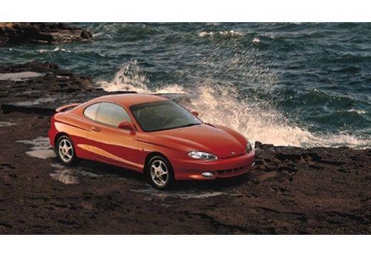 HYUNDAI Coupe I coupe czerwony jasny górny przedni