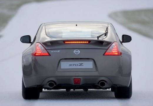 NISSAN 370 Z I coupe silver grey tylny