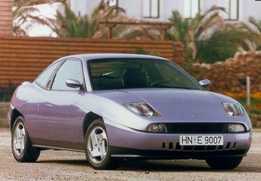FIAT Coup coupe fioletowy przedni prawy