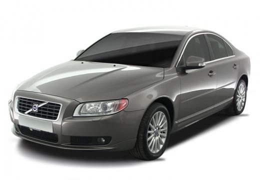 VOLVO S80 III sedan silver grey