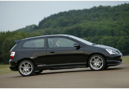 HONDA Civic V hatchback czarny boczny prawy