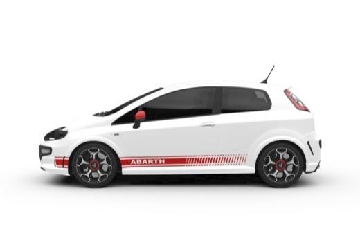 FIAT Punto Evo hatchback boczny lewy