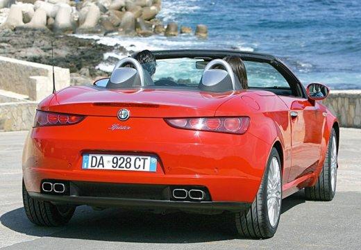 ALFA ROMEO Spider V kabriolet czerwony jasny tylny prawy