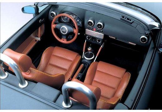 AUDI TT Coupe 8N roadster wnętrze