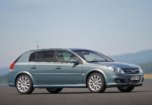 OPEL Signum II hatchback niebieski jasny przedni prawy