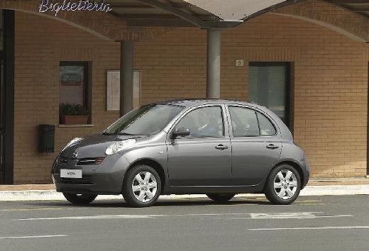 NISSAN Micra V hatchback szary ciemny przedni lewy