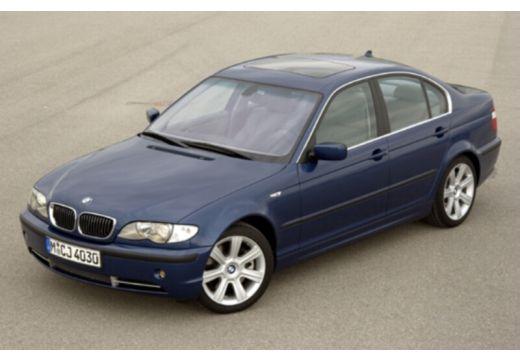 BMW Seria 3 E46/4 sedan niebieski jasny przedni lewy