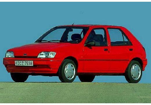 FORD Fiesta II hatchback czerwony jasny przedni lewy