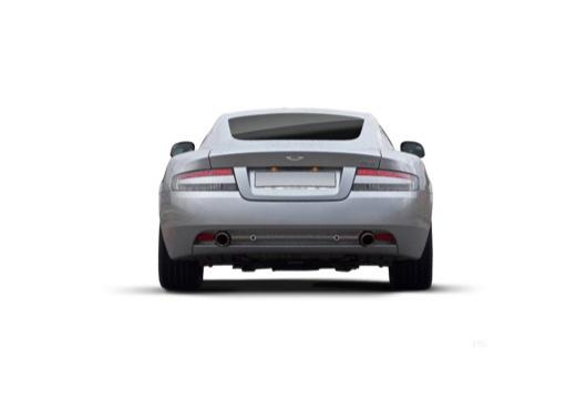 ASTON MARTIN DB9 PL coupe silver grey tylny