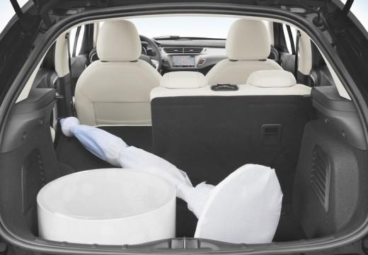 CITROEN C3 II I hatchback przestrzeń załadunkowa