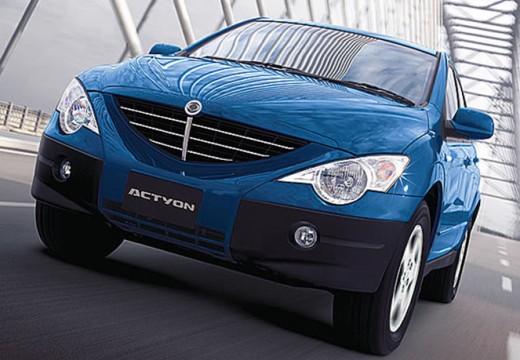SSANG YONG Actyon hatchback niebieski jasny przedni lewy