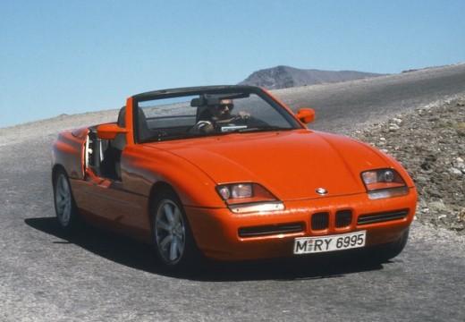 BMW Z1 roadster czerwony jasny przedni prawy