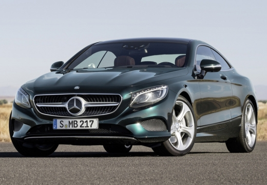 MERCEDES-BENZ Klasa S Coupe I coupe zielony