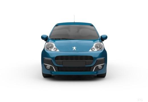 PEUGEOT 107 hatchback przedni
