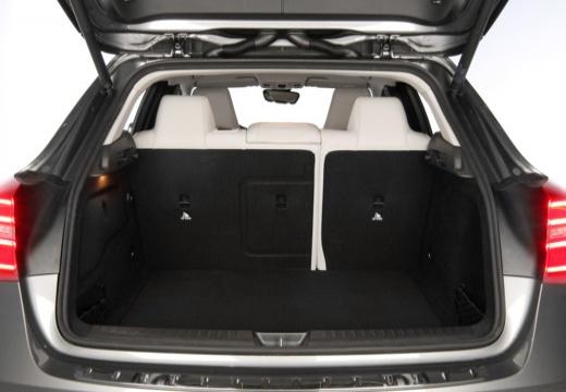 MERCEDES-BENZ Klasa GLA hatchback przestrzeń załadunkowa