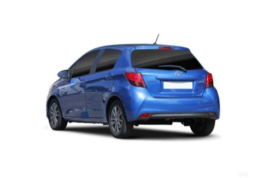 Toyota Yaris VI hatchback niebieski jasny tylny lewy