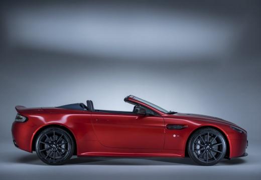 ASTON MARTIN Vantage roadster czerwony jasny boczny prawy