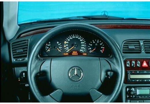 MERCEDES-BENZ Klasa CLK CLK Cabriolet A 208 kabriolet tablica rozdzielcza