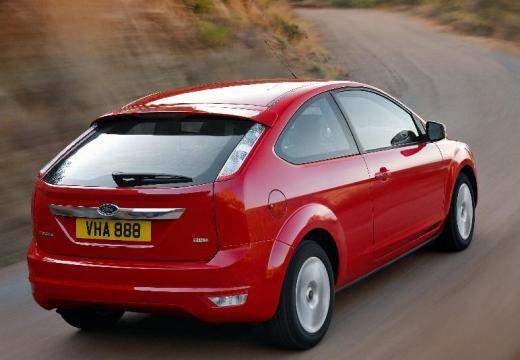 FORD Focus IV hatchback czerwony jasny tylny prawy