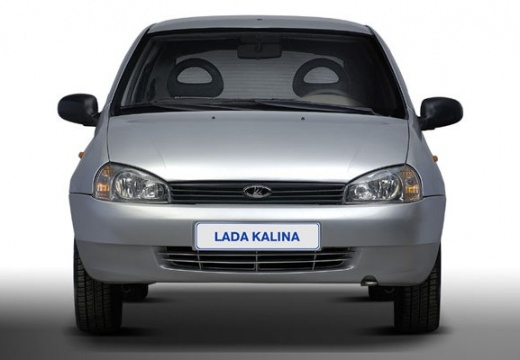 LADA Kalina hatchback silver grey przedni