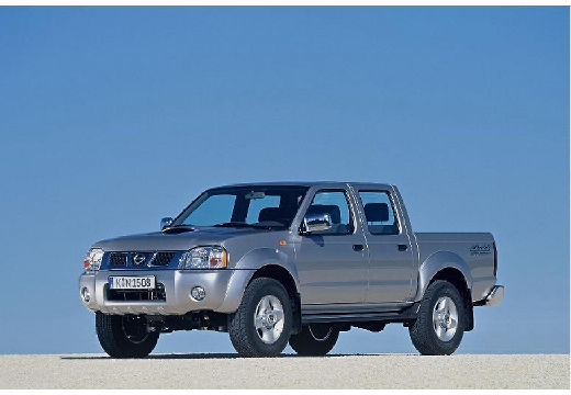 NISSAN Pick Up Navara II pickup silver grey przedni lewy