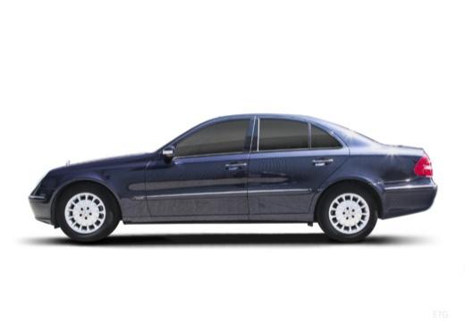 MERCEDES-BENZ Klasa E W 211 I sedan boczny lewy