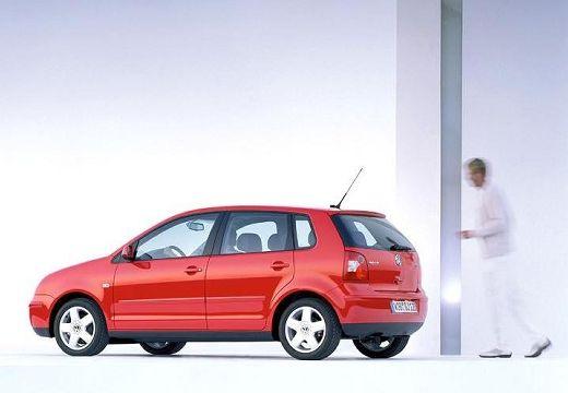 VOLKSWAGEN Polo IV I hatchback czerwony jasny tylny lewy