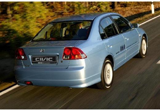 HONDA Civic V sedan niebieski jasny tylny prawy