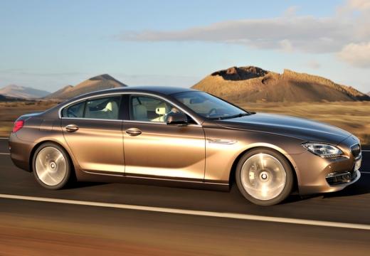 BMW Seria 6 Gran Coupe F06 I sedan silver grey przedni prawy
