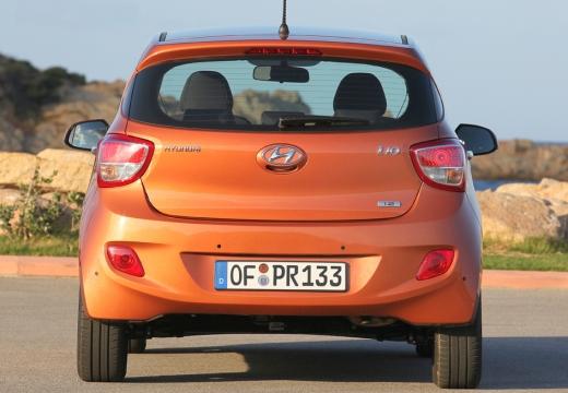 HYUNDAI i10 III hatchback pomarańczowy tylny