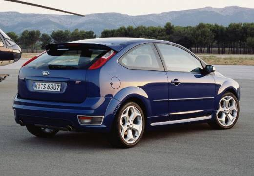 FORD Focus III hatchback niebieski jasny tylny prawy