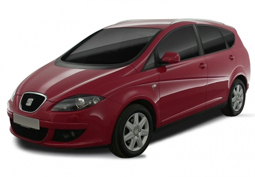 SEAT Altea XL I hatchback czerwony jasny