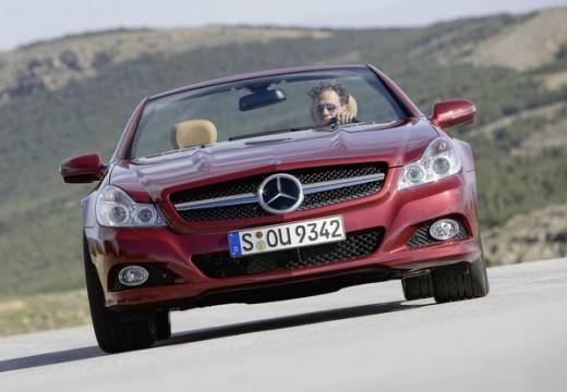 MERCEDES-BENZ Klasa SL roadster czerwony jasny przedni