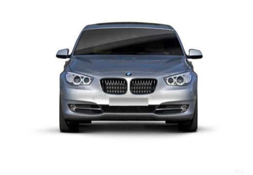 BMW Seria 5 Gran Turismo F07 I hatchback silver grey przedni