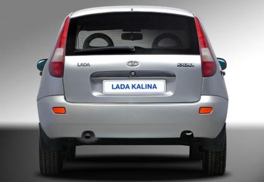 LADA Kalina hatchback silver grey tylny