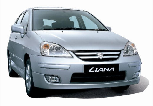 SUZUKI Liana hatchback silver grey przedni prawy