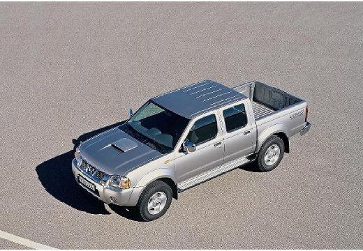NISSAN Pick Up pickup silver grey przedni lewy