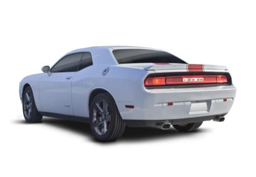 DODGE Challenger I coupe biały tylny lewy
