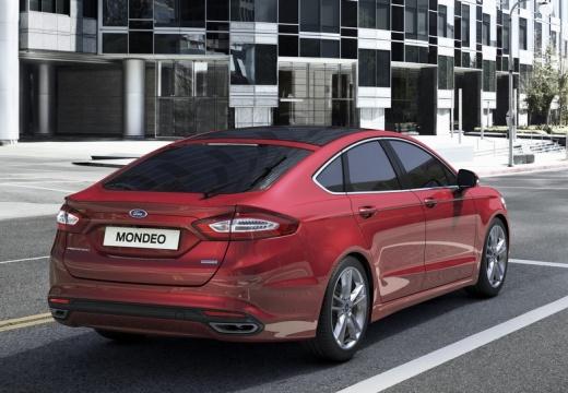 FORD Mondeo VIII hatchback czerwony jasny tylny prawy