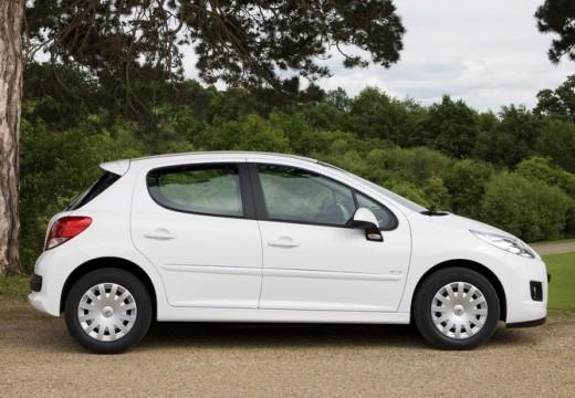 PEUGEOT 207 II hatchback biały boczny prawy