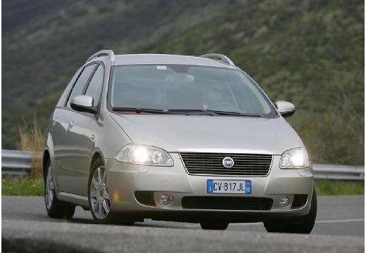 FIAT Croma II kombi silver grey przedni prawy