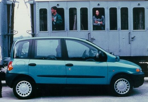 FIAT Multipla I kombi niebieski jasny boczny prawy