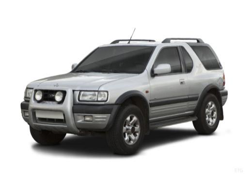 OPEL Frontera Kombi III hardtop silver grey przedni lewy