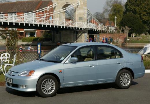 HONDA Civic IV sedan silver grey przedni lewy