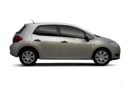 Toyota Auris I hatchback boczny prawy