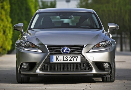LEXUS IS V sedan silver grey przedni