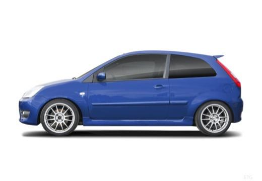 FORD Fiesta VI hatchback boczny lewy