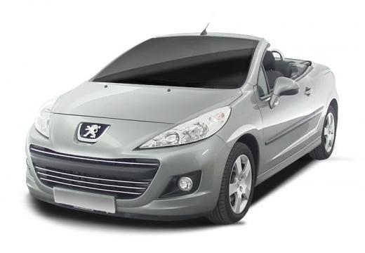 PEUGEOT 207 kabriolet silver grey